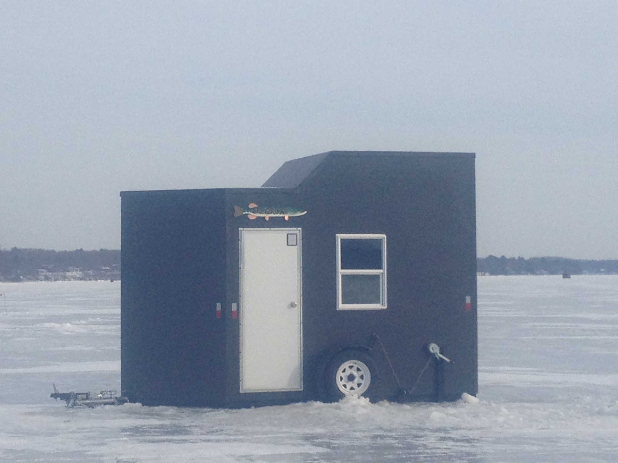 Classified ad fish house for sale red lake mn ice for Ice fishing rentals mn
